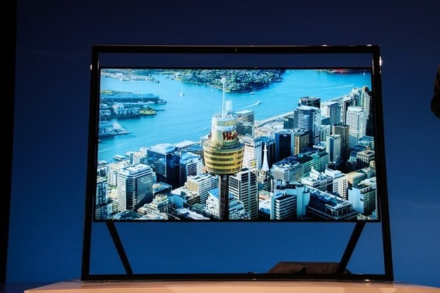 Samsung 98-inch UHD screen
