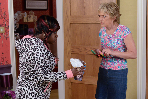 Jean expresses her fears for Shirley to Kim.