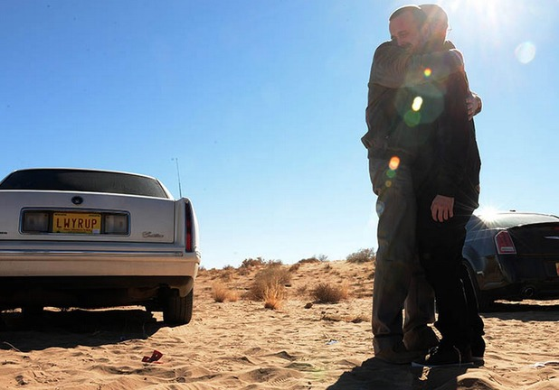 Walt and Jesse in 'Breaking Bad' season 5, episode 11 'Confessions'