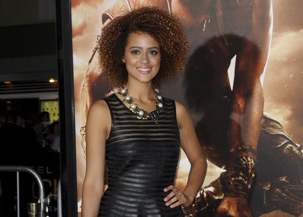 "Nathalie Emmanuel Los Angeles ""Riddick"" Premiere held at XXX in Westwood."