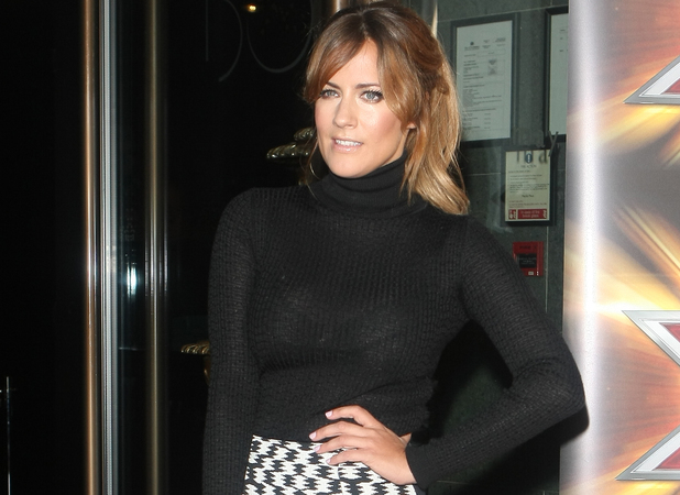 Caroline Flack X Factor press launch held at The May Fair Hotel
