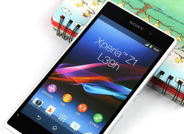 Leaked Sony Xperia Z1 image