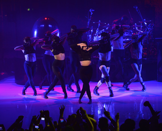 Lady Gaga performs at the iTunes Festival at Camden's Roundhouse