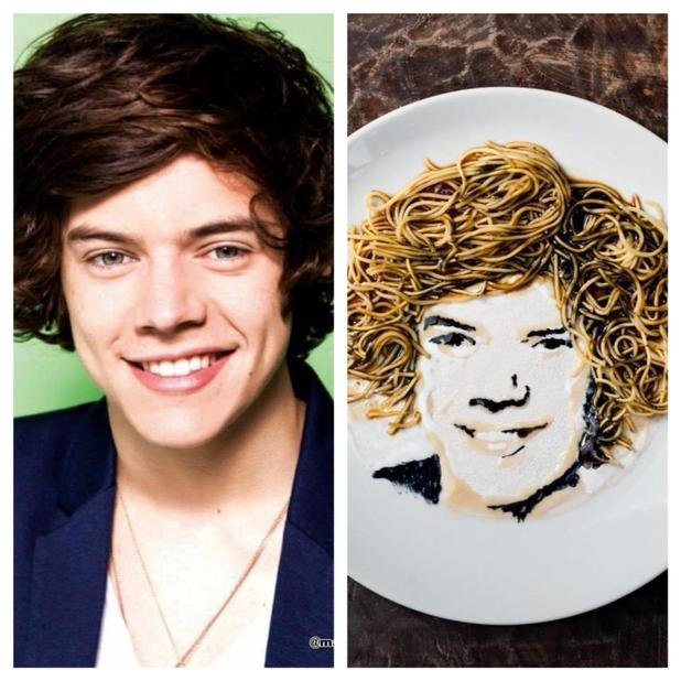 Harry Styles... of Wok Direction