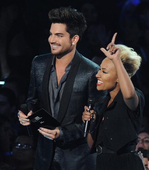 Adam Lambert and Emeli Sande