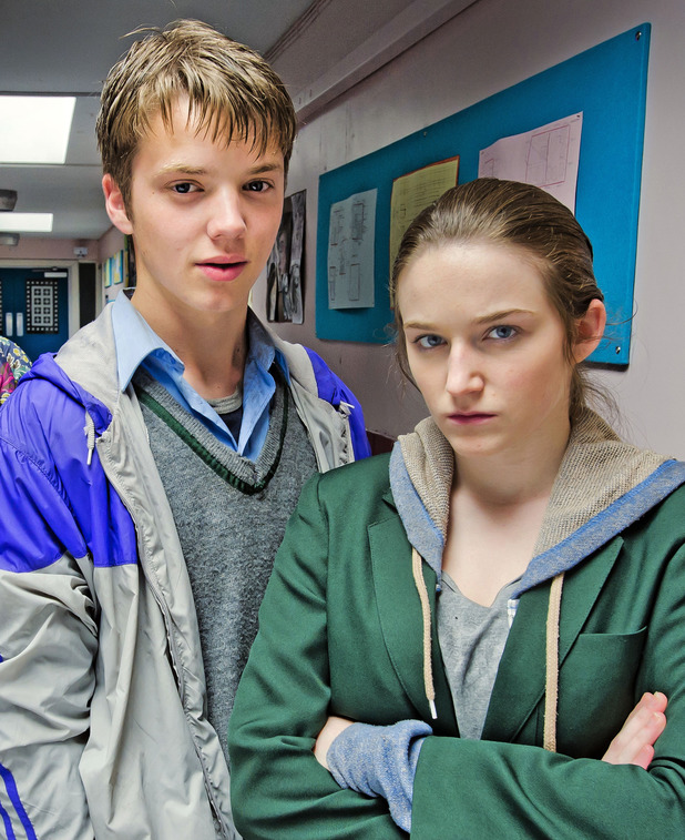 Joe Slater and Caitlin Gillespie as Lenny and Lisa Brown on Waterloo Road