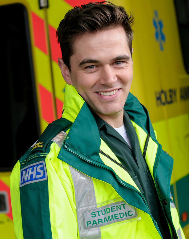 Michael Stevenson as Iain Dean in Casualty