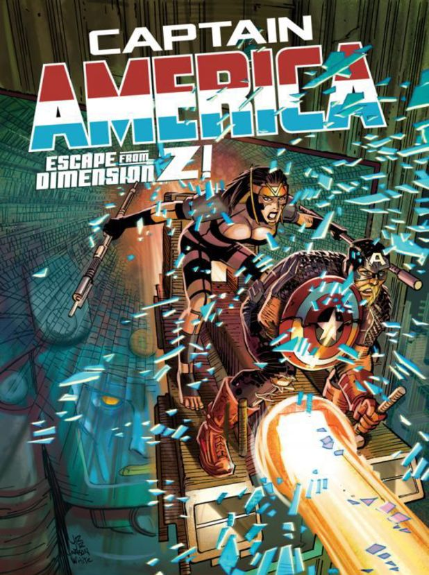 Captain America #10 cover design
