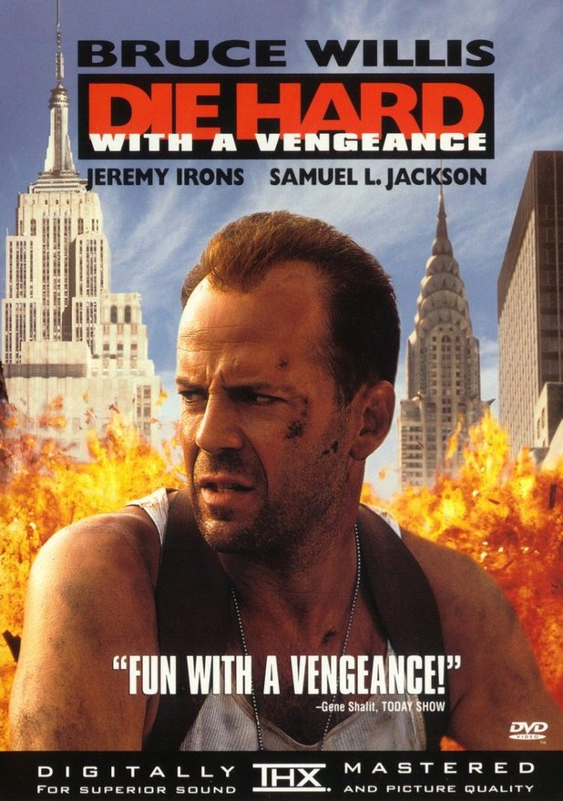 'Die Hard With A Vengeance' poster