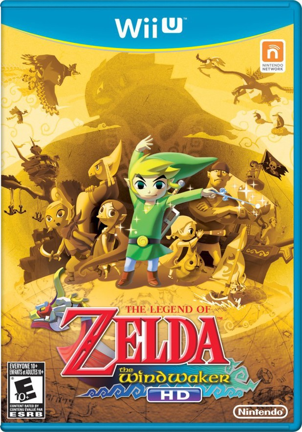 'The Legend of Zelda: The Wind Waker HD' Wii U box art