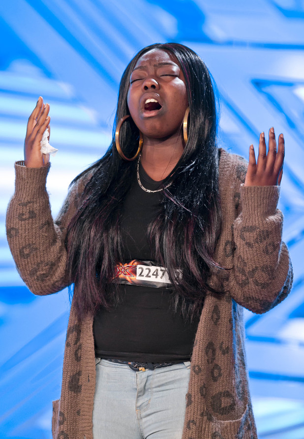 Hannah on The X Factor 2013