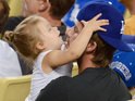 Beckham & Harper bond at baseball, X Factor reunion and more in today's celebrity pictures.