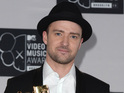 "Justin Timberlake jokes that ""fanboys [can] rejoice"" that he is not playing Riddler."