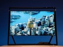 New UHD computer monitor also unveiled.