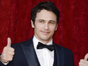 But James Franco says that he didn't mind jokes suggesting that he was gay.