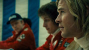 'Rush' Digital Spy exclusive: Niki Lauda and James Hunt press conference scene