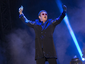 Sir Elton John performs at Bestival 2013