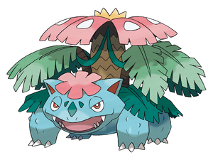 Pokemon X and Y: Mega Venusaur