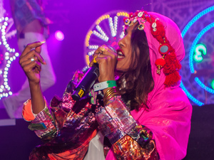 MIA at Bestival 2013