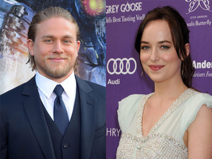 Charlie Hunnam and Dakota Johnson are cast in 50 Shades of Grey