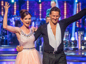 Sophie Ellis-Bextor and Brendan Cole