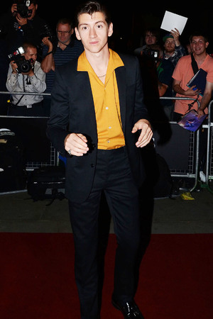 Alex Turner at the GQ Men of the Year Awards, Royal Opera House, London, Britain - 03 Sept 2013