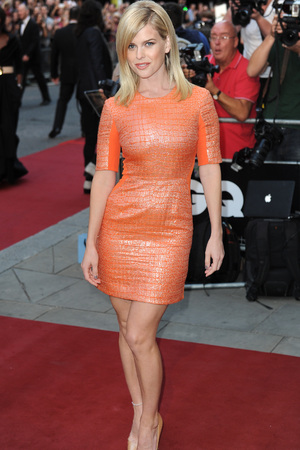 Alice Eve attends GQ Men of the Year Awards, Royal Opera House, London, Britain - 03 Sept 2013