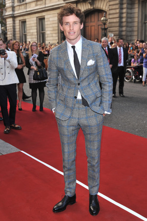 Eddie Redmayne attends the GQ Men of the Year Awards in association with Hugo Boss at the Royal Opera House, London.