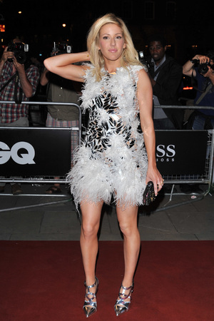 Ellie Goulding attends the GQ Men of the Year Awards in association with Hugo Boss at the Royal Opera House, London.