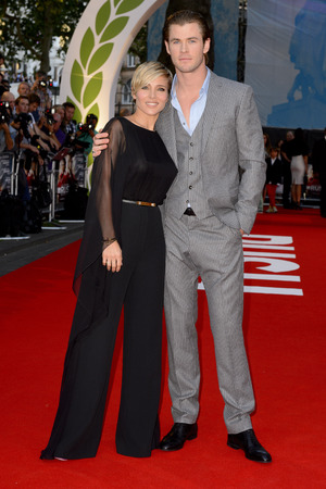 'Rush' Film Premiere, London, Britain - 02 Sep 2013 Elsa Pataky and Chris Hemsworth