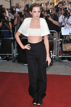 Emma Watson attends the GQ Men of the Year Awards in association with Hugo Boss at the Royal Opera House, London.