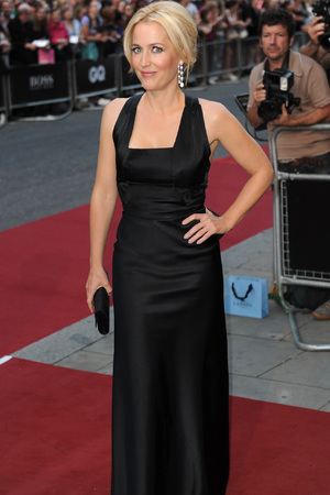 Gillian Anderson attends the GQ Men of the Year Awards in association with Hugo Boss at the Royal Opera House, London.