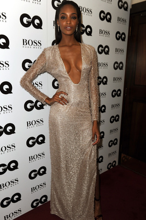 Jourdan Dunn attends the GQ Men of the Year Awards in association with Hugo Boss at the Royal Opera House, London.
