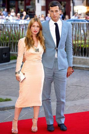 'Rush' film premiere, London, Britain - 02 Sep 2013 Josephine De La Baume and Mark Ronson