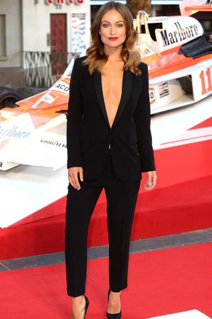 'Rush' film premiere, London, Britain - 02 Sep 2013 Olivia Wilde