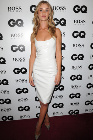 Rosie Huntington-Whiteley attends the GQ Men of the Year Awards in association with Hugo Boss at the Royal Opera House, London.