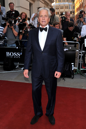 Michael Douglas arriving at the GQ Men of the Year Awards held at the Royal Opera House