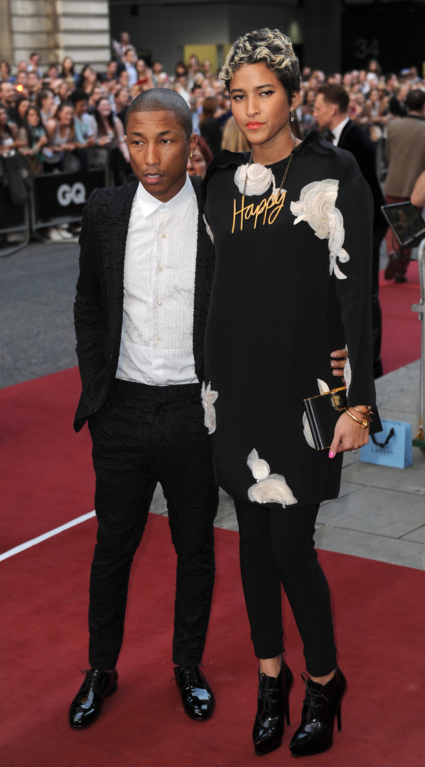 Pharrell Williams and fiance Helen Lasichanh