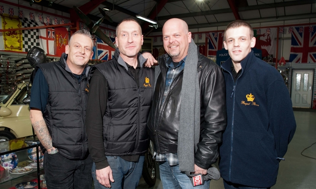 Rick Harrison Pawn Stars UK