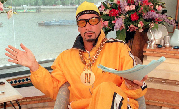 Richard Madeley as Ali G on This Morning in 2000