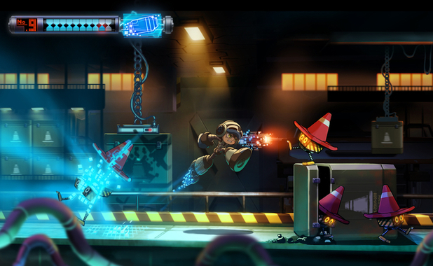 Mighty No 9 is the spiritual successor to Mega Man