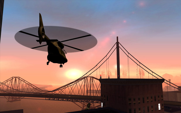 Grand Theft Auto: San Andreas game screenshot.