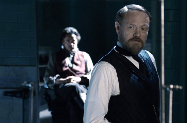 Sherlock Holmes and Professor Moriarty