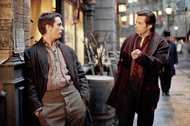 Christian Bale, Hugh Jackman in 'The Prestige'