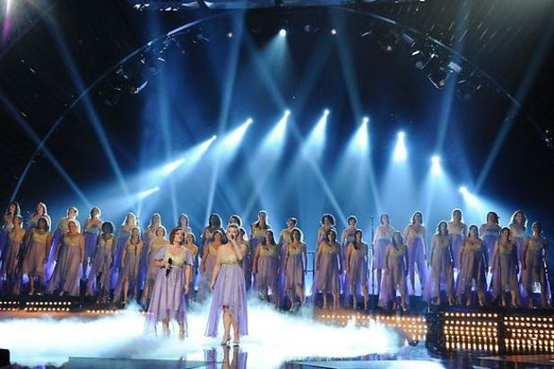 America's Got Talent Semi-final: American Military Spouses Choir