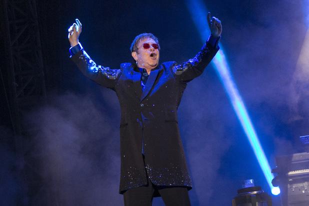 Sir Elton John performs at Bestival 2013