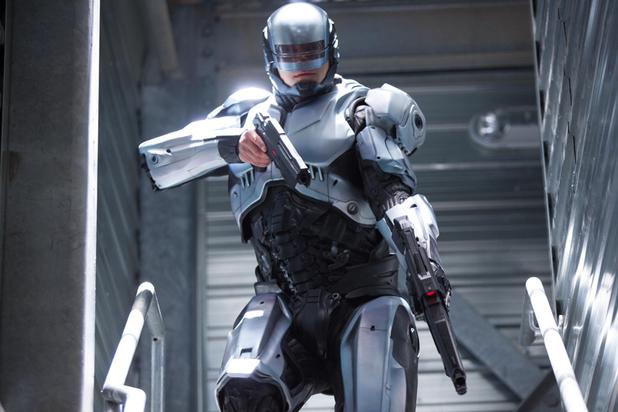 RoboCop silver classic suit