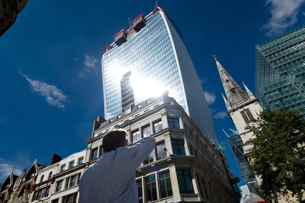 'Walkie Talkie' skyscraper in London