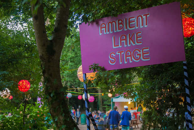 The Ambient Lake stage.