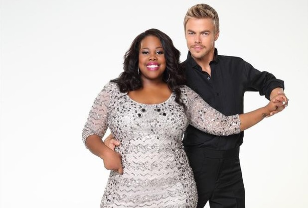 Dancing With The Stars 2013: Amber Riley and Derek Hough